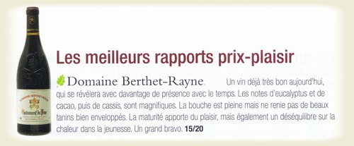 Commentaires Berthet-Rayne